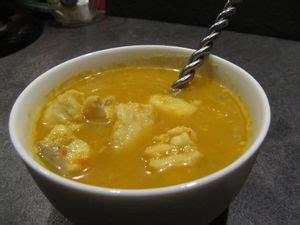 cuisiner lieu noir soupe épicée au lieu noir pour ceux qui aiment cuisiner