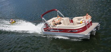 Performance Pontoon Boats For Sale by Performance Pontoon Boat From Manitou Pontoons Ohio Dealer
