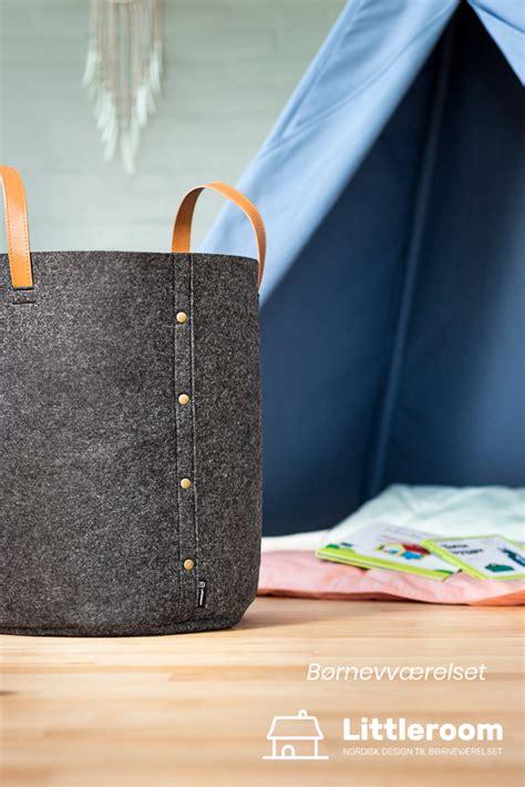 Opbevaringskurv til legetøj, Mørkegrå   Bags, Tote bag, Fashion