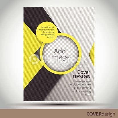 Yellow Brochure Design Vector Millions Vectors Vector Brochure Flyer Cover Design Template With Yellow