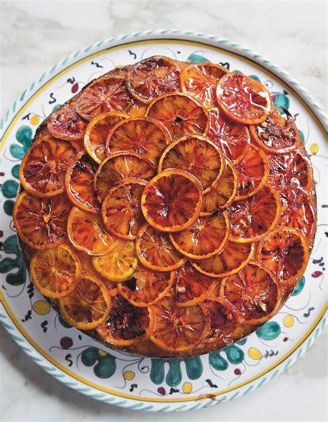 recette de cuisine professionnel gâteau de grand mère aux oranges sanguines pour 4