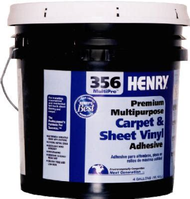 Henry #356 Floor Adhesive 4 Gallon 12075