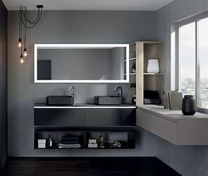 meuble halo sanijura collection avec gamme halo meuble With salle de bain design avec décoration batman anniversaire