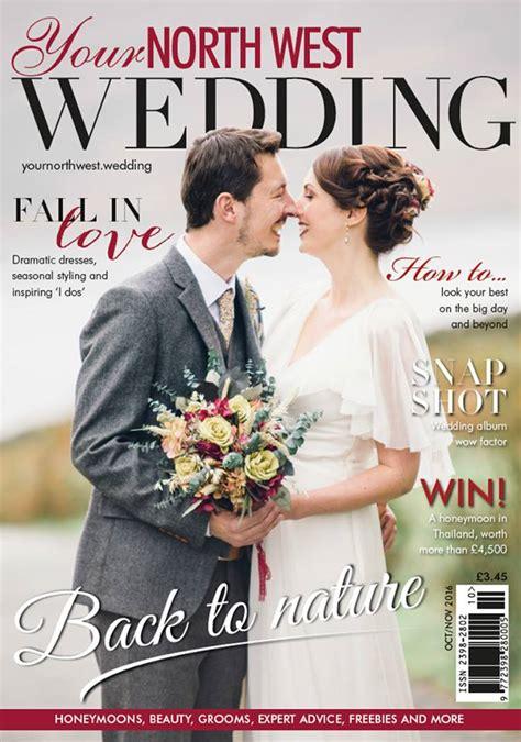 cover shot   north west wedding magazine jessica