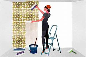Comment Enlever Le Papier Peint : comment poser un papier peint intiss instructions pour ~ Dailycaller-alerts.com Idées de Décoration