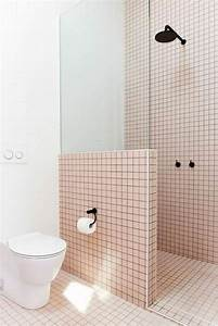 1580 best salle de bain images on pinterest With carrelage rose salle de bain