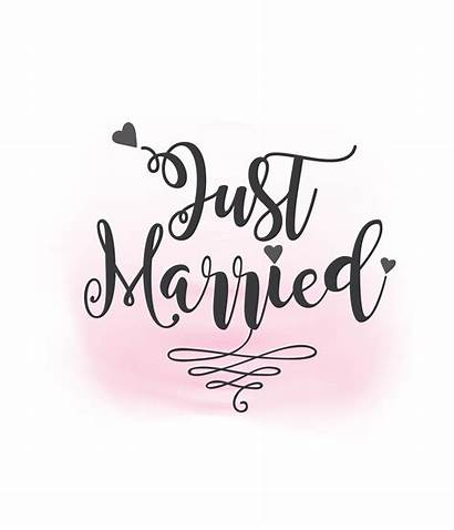 Married Svg Clipart Printable Sign Vector Silhouette