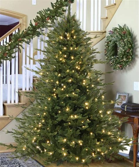 black friday artificial christmas tree 6ft pre lit warm white led pe realistic tree black friday special ebay