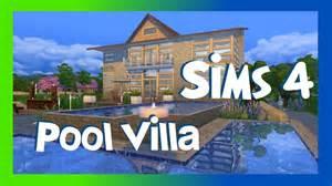 Moderne Häuser Mit Pool : sims 4 moderne pool villa sims 4 h user youtube ~ Markanthonyermac.com Haus und Dekorationen