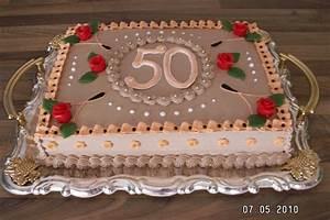 Torte 50 Geburtstag Frau Konditorei R Gen Verschiedene Anl Sse