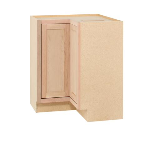 unfinished kitchen base cabinets assembled 28 5x34 5x16 5 in lazy susan corner base