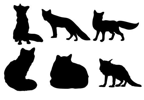 I love to share a freebie with my readers from time to time so today you get to enjoy this free fox svg! Free Fox silhouette Vector - Download Free Vector Art ...