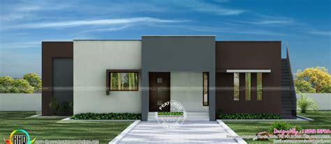 Minimalist House Single Floor  Kerala Home Design