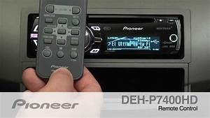 How To - Deh P7400hd - Remote Control