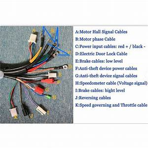 72v 4000w Electric Bicycle Brushless Motor Speed Controller For E