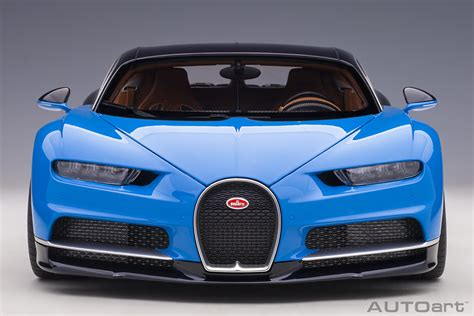 Louis motorcars with just 336 miles (540 km) under its belt, meaning it is virtually new. Bugatti Chiron (French Racing Blue / Atlantic Blue) | AUTOart