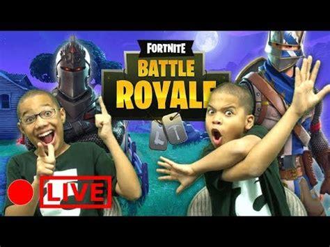 kids play fortnite fortnite battle royale youtube