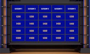 Online Resume Templates Jeopardy Templates
