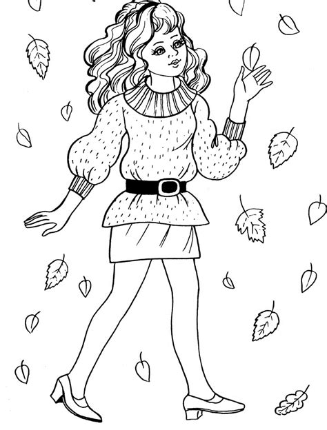 easy coloring pages  girls az coloring pages
