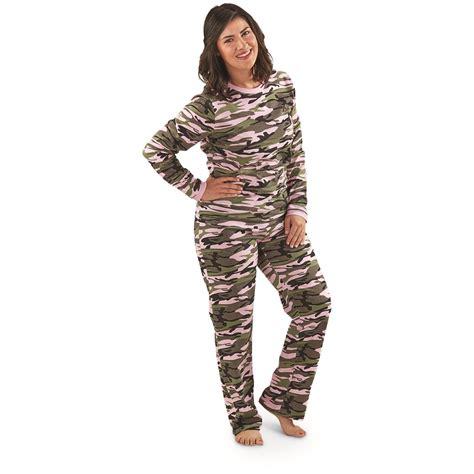 guide gear womens camo pajama set  sleepwear pajamas  sportsmans guide