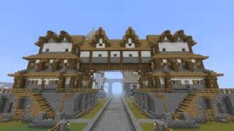 mansion blueprints minecraft building home tutorial part