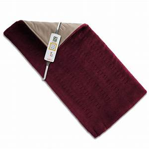 Sunbeamr king size xpressheattm burgundy heating pad for Hot dog heating pad