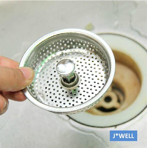 mesh stainless steel kitchen bathroom sink strainer