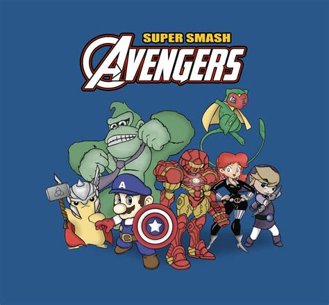 Super Smash Avengers By Jefferson Apgar On Deviantart