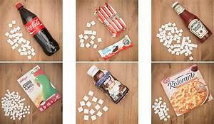 Wieviel Liter Hat Eine Badewanne : hilfe zucker zuckergehalt beliebter nahrungsmittel ~ Lizthompson.info Haus und Dekorationen
