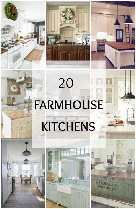 farmhouse kitchens  fixer upper style industrial flare