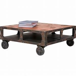 Table Basse En Solde : table basse industrielle 50 mod les fous et surprenants ~ Teatrodelosmanantiales.com Idées de Décoration