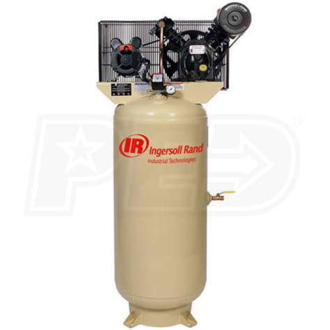 ingersoll rand 2340l5 200 3 5 hp 60 gallon two stage air compressor 208v 3 phase