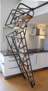 Escalier Escamotable Grenier : escalier escamotable industriel angers par lebot ~ Melissatoandfro.com Idées de Décoration