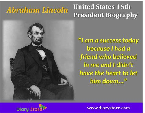 abraham lincoln united states  president biography diary