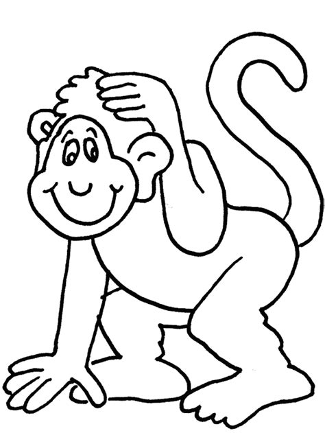 monkey cartoon drawings   clip art  clip art  clipart library