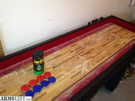 used 22 foot shuffleboard table for sale armslist for sale full size 9 foot shuffleboard table