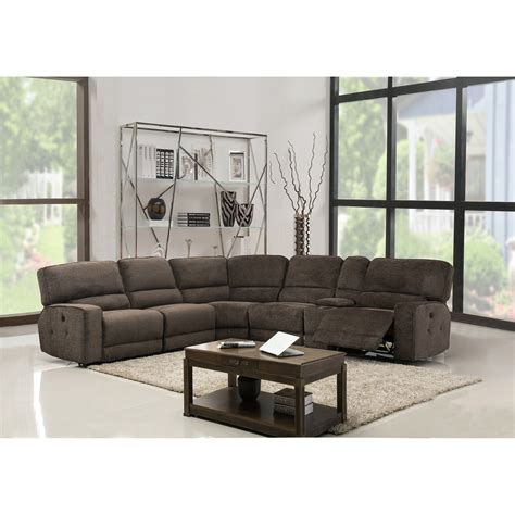 Sofa Industry by Gu Industries Chenille Fabric Upholstered Reclining