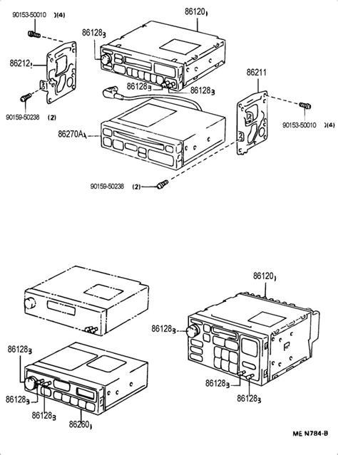 Toyota Knob Radio Receiver
