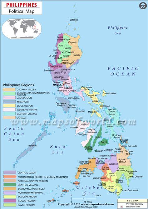 political map  philippines maps   philippine