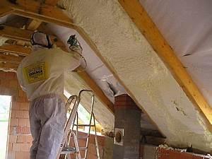 Zateplení šikmé střechy polystyrenem