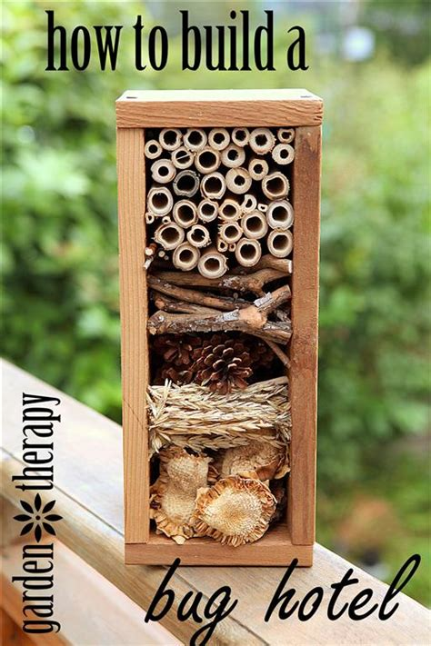 build  bug hotel  wwwgardentherapyca garden