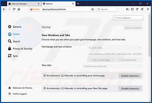 How To Get Rid Of Free Online Manuals Browser Hijacker
