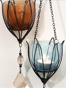 Glas Windlicht Zum Hängen : teelichthalter tulpe zum h ngen windlicht dekoh nger h nger ~ Bigdaddyawards.com Haus und Dekorationen