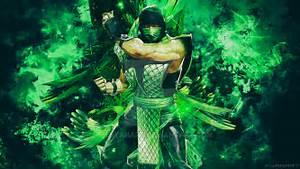 Mortal Kombat Reptile Wallpaper By TheSyanArt On DeviantArt