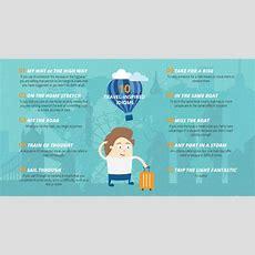 Infographic 10 Travelinspired English Idioms Eplanet