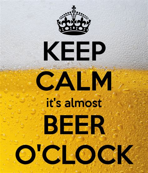 Beer O Clock Meme - beer o clock