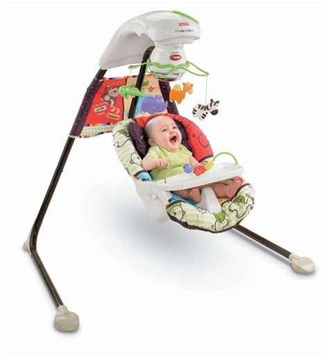 chaise haute fisher price rainforest review fisher price cradle 39 n swing u zoo