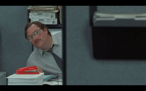 Office Space by Office Space Stapler Quotes Quotesgram