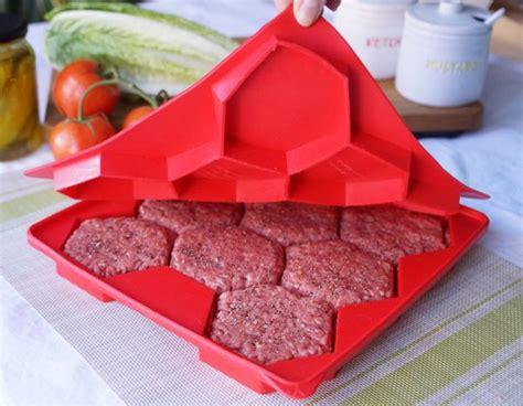 burger master innovative    burger press freezer