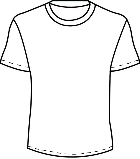 Tshirt Basic Template by Basic T Shirt Template